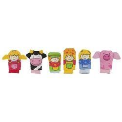 Zestaw pacynek na dłoń Farma - zabawki dla dzieci - produkt dostępny w www.epinokio.pl