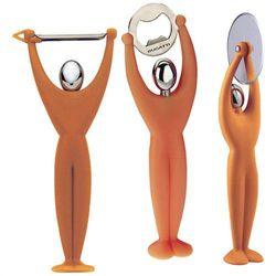 - gym zestaw 3 przyborów - pomarańczowy - pomarańczowy marki Casa bugatti