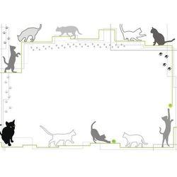 Wally - piękno dekoracji Tablica suchościeralna 001 koty