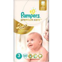 Pampers Pieluchy Premium Care VP 3 Midi 60 szt/ DARMOWY TRANSPORT DLA ZAMÓWIEŃ OD 99 zł