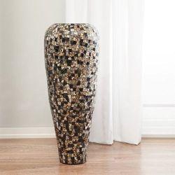 Dekoria  wazon suri czarno-brązowo-szary, 99 cm, 99cm