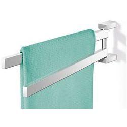 Zack Wieszak na ręczniki linea podwójny polerowany, kategoria: wieszaki na ręczniki