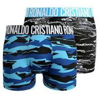 Cristiano Ronaldo CR7 FASHION TRUNK 2 PACK Panty blue/black/light blue, w 5 rozmiarach