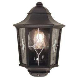 Zewnętrzna LAMPA ścienna NORFOLK NR7/2 Elstead elewacyjna OPRAWA ogrodowa IP43 outdoor czarny