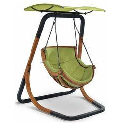 Zielony fotel wiszący do ogrodu - pasos 3x marki Producent: elior