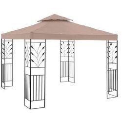Pawilon ogrodowy - ornament - beżowy marki Uniprodo
