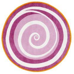 Pt dywan wirbel fairy, kolor różowo-fioletowy marki Kids conce