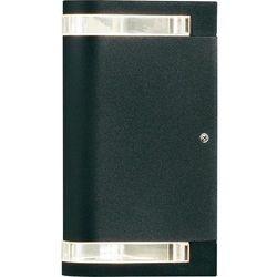 Konstsmide modena zewnętrzny kinkiet czarny - - nowoczesny/design - - modena - (7318307518757)
