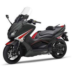 Zestaw naklejek PUIG do Yamaha T-Max 530 15-16 (czarne 8154), towar z kategorii: Pozostałe akcesoria motocykl