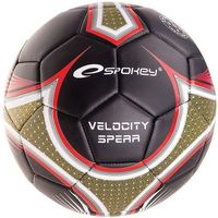 Piłka nożna velocity spear  835913 r 5 - czerwony ||czarny ||złoty marki Spokey