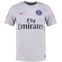Nike Performance PARIS SAINTGERMAIN Tshirt z nadrukiem wolf grey/wolf grey/university red (0886737284452)