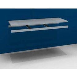 Dodatkowa półka w komplecie z trawersami i półką stalową, szer. 2000 mm, gł. 800