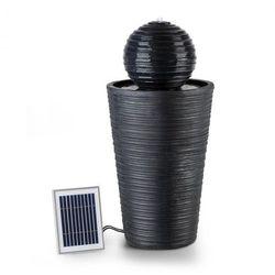 Blumfeldt liquitorre xl fontanna solarna 200 l/h panel solarny 2 w akumulator led tworzywo polyresin (4060656150197)