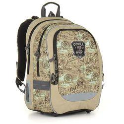 Plecak szkolny Topgal CHI 872 K - Brown - produkt z kategorii- Tornistry i plecaki