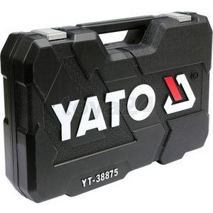 Zestaw narzędzi 126cz. dla serwisów samochodowych / yt-38875 / - zyskaj rabat 30 zł marki Yato