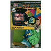 Pan robótka - skarpetkowe pacynki marki Mister maker