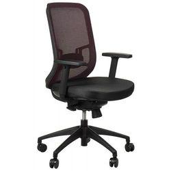 Stema - gn Krzesło obrotowe biurowe gn-310/bordo z wysuwem siedziska