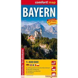 Bayern laminowana mapa samochodowo-turystyczna 1:400 000, rok wydania (2014)