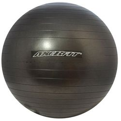 Axer Sport, Anti-Burst, Black, piłka gimnastyczna, 55 cm