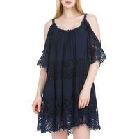 Guess Sukienka Niebieski XS (7613351679639)