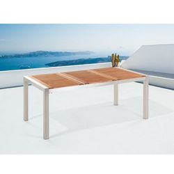 Stół ogrodowy mahoń 180 x 90 cm GROSSETO