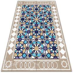 Modny uniwersalny dywan winylowy Modny uniwersalny dywan winylowy Kwadraty w romby