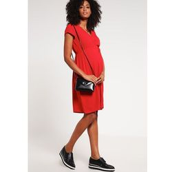 MAMALICIOUS MLLISBETH Sukienka letnia pompeian red z kategorii sukienki ciążowe
