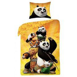 Halantex Dziecięca pościel bawełniana Kung Fu Panda, 140 x 200 cm, 70 x 90 cm - produkt z kategorii- Komplety pościeli dla dzieci