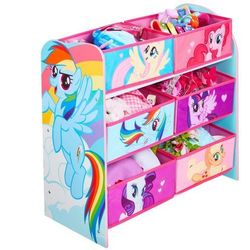 Półka z koszami na zabawki my little pony marki Worldsapart