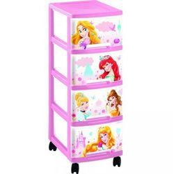 Regałek 4 szuflady - Princess Curver