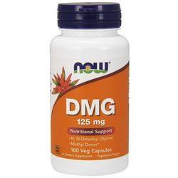 Now Foods DMG (kwas pangamowy, witamina B15) 125mg 100 kaps. - produkt farmaceutyczny