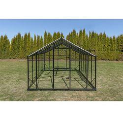 Szklarnia sanus xl-18 wymiar 2,9x6,4m h=2,25m 18,6m2 szkło hartowane 4mm marki Emaga