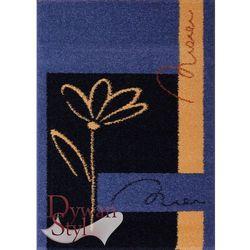 Dywan Vision Flower niebieski 060x115 prostokąt