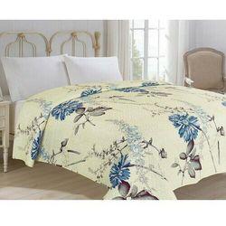 4-home Narzuta na łóżko bianca beżowy, 220 x 240 cm