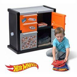 Step2 szafka na ubrania dla chłopca hot wheels™ race car dresser™ (0733538858392)