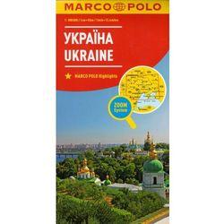Marco Polo Mapa Samochodowa Ukraina 1:800 000 Zoom, książka z ISBN: 9783829738484
