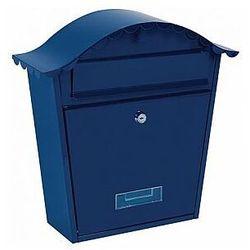 Perel skrzynka pocztowa - paris - niebieska