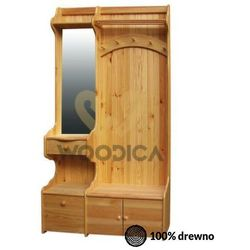Garderoba 113x200 prawostronna marki Woodica