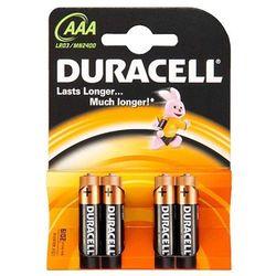 4 x bateria alkaliczna Duracell Duralock C&B LR03 AAA (blister), kup u jednego z partnerów