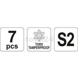 Zestaw kluczy imbusowych powlekanych torx 10 cz. Yato YT-0562 - ZYSKAJ RABAT 30 ZŁ (5906083905629)