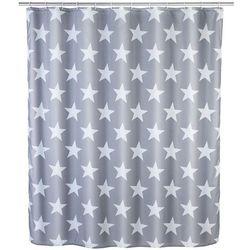 Zasłona prysznicowa Stella, tekstylna, 180x200 cm, WENKO (4008838161524)