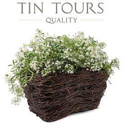 Mała balkonówka z brzozy / wrzosówka 30x18x15h cm marki Tin tours sp.z o.o.