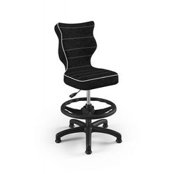 Entelo Krzesło dziecięce na wzrost 133-159cm petit black vs01 rozmiar 4 wk+p