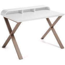 Laforma  :: biurko dębowe success białe, kategoria: biurka