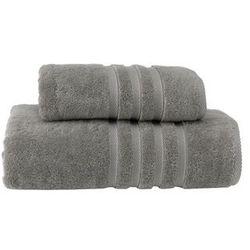 Ręcznik kąpielowy boheme 85x150 cm szary marki Soft cotton
