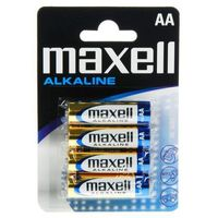 4 x bateria alkaliczna Maxell Alkaline LR6/AA - produkt z kategorii- Baterie