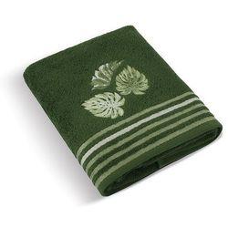 ręcznik kąpielowy monstera zielony, 70 x 140 cm , 70 x 140 cm od producenta Bellatex