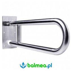 Faneco Poręcz uchylna dla niepełnosprawnych 750 mm stal nierdzewna polerowana
