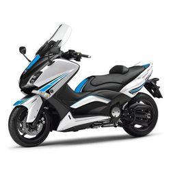 Zestaw naklejek PUIG do Yamaha T-Max 530 12-15 (niebieskie 6337)