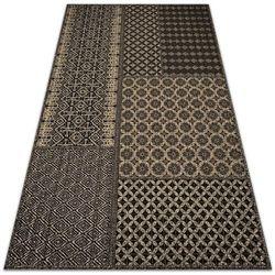 Dywan zewnętrzny tarasowy wzór dywan zewnętrzny tarasowy wzór wzór aztecki marki Dywanomat.pl